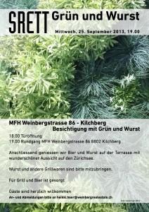 SRETT_Grün und Wurst_2013